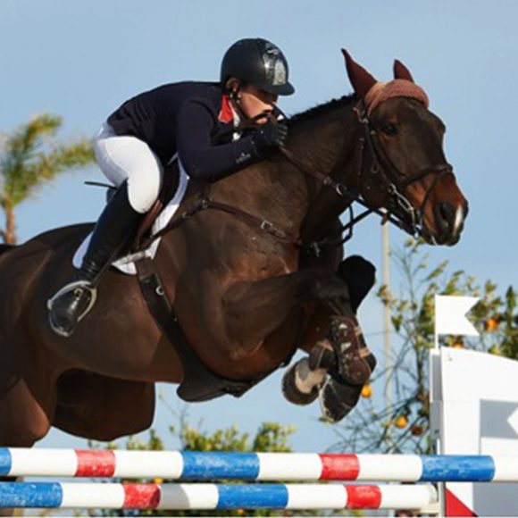 Holly Smith wins the Grand Prix of the Mediterranean Equestrian Tour