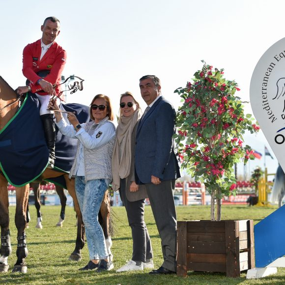 Pius Schwizer and Chidame Z Speed to victory in the CSI3*