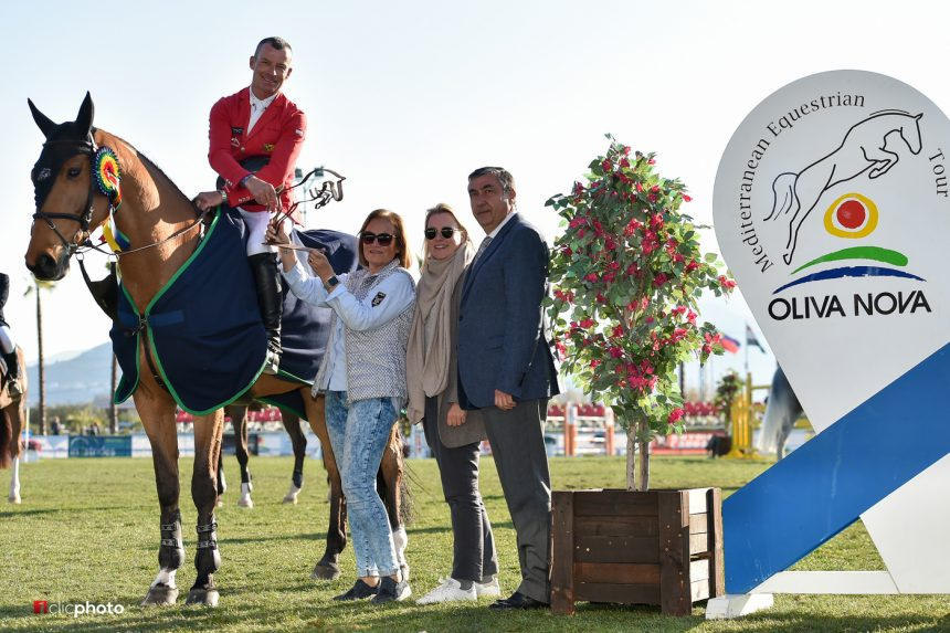 The Mediterranean Equestrian Tour of spring reaches its equator with the triumph of Pius Schwizer
