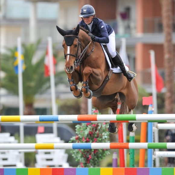 Victoria of Katharina Offel in the second Grand Prix CHG Trophy