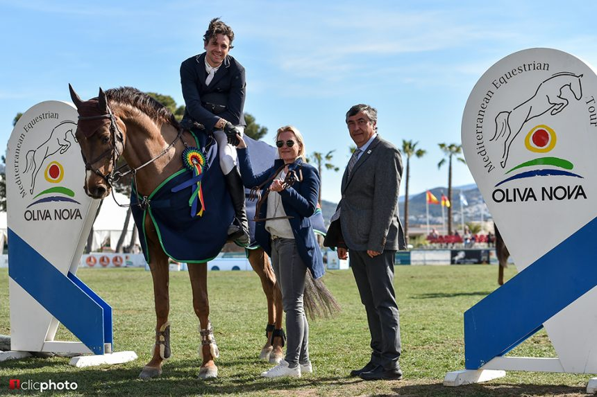 Oliver Lazarus saves the best for last to win the CSI3* Grand Prix Presented by Oliva Nova Beach and Golf Resort at the Spring MET III
