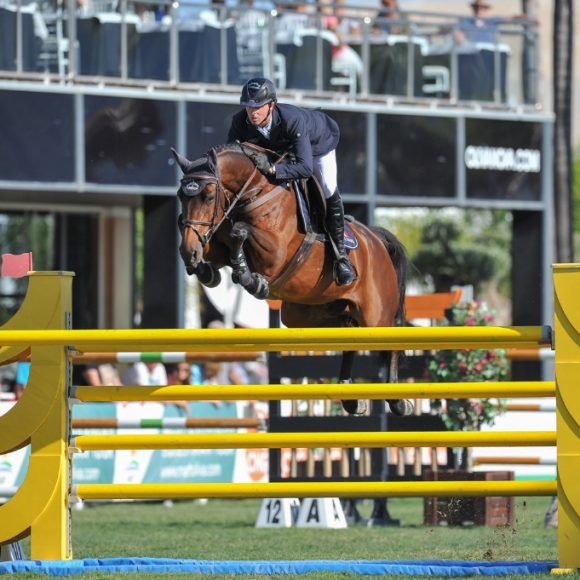 Ben  Maher best in the CSI2* Grand Prix presented by Oliva Nova Beach & Golf Resort