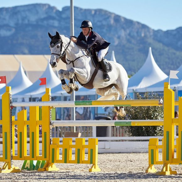 Matthew Sampson and Ebolensky top in CSI2* Grand Prix of CHG at Autumn MET 2018