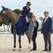 Giulia Martinengo Marquet makes the most of being last to win the CSI2* Grand Prix