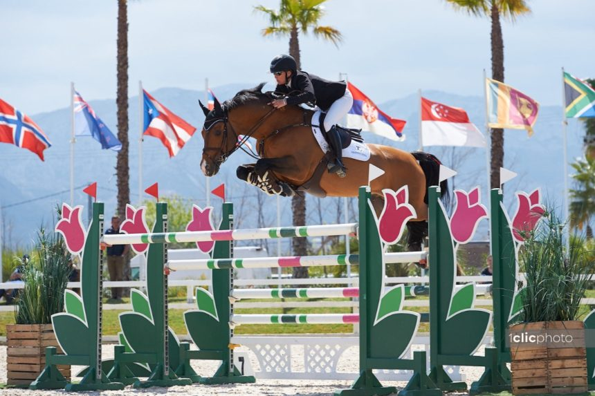 Samantha McIntosh wraps up Spring MET III with a win in the CSI3* Grand Prix presented by CHG