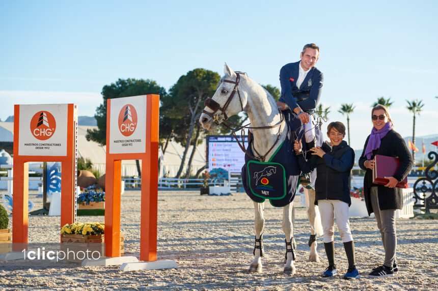 Julien Epaillard and Jalanta P kick off Spring MET 2020 with a win in the CSI2* Grand Prix presented by CHG