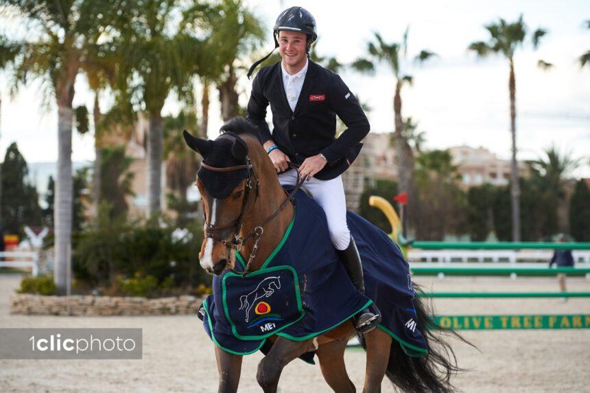 Constant Van Paesschen and Isidoor van de Helle make it two in a row with victory in Sunday's CSI2* Grand Prix presented by Oliva Nova Beach & Golf Resort