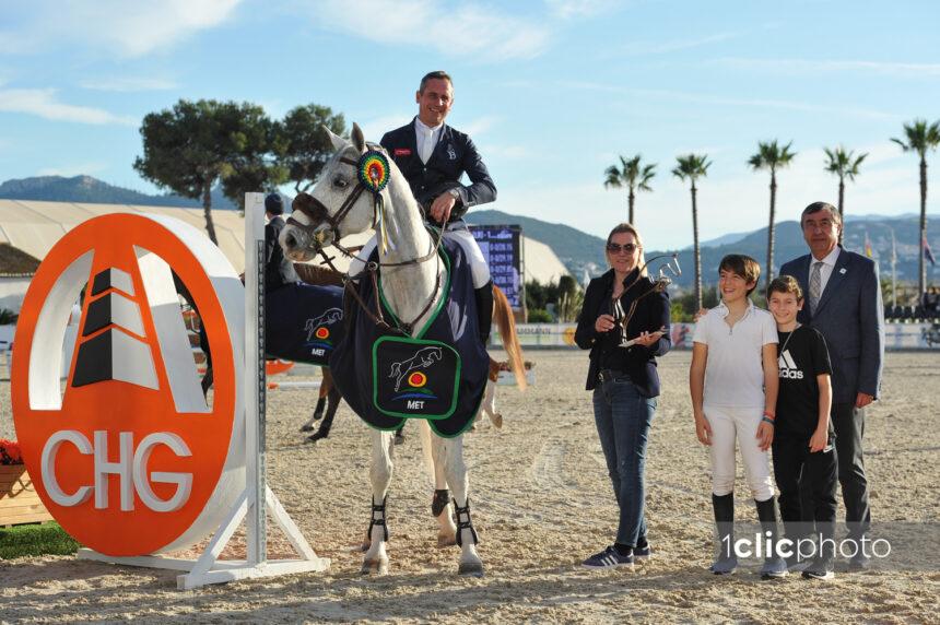 Concluye con éxito la primera parte del Mediterranean Equestrian Tour