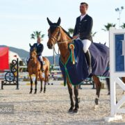 Denerys du Monteceau, Otello de Kalvarie and Zucchero best in the Kingsland Young Horse Finals at Spring MET II 2020