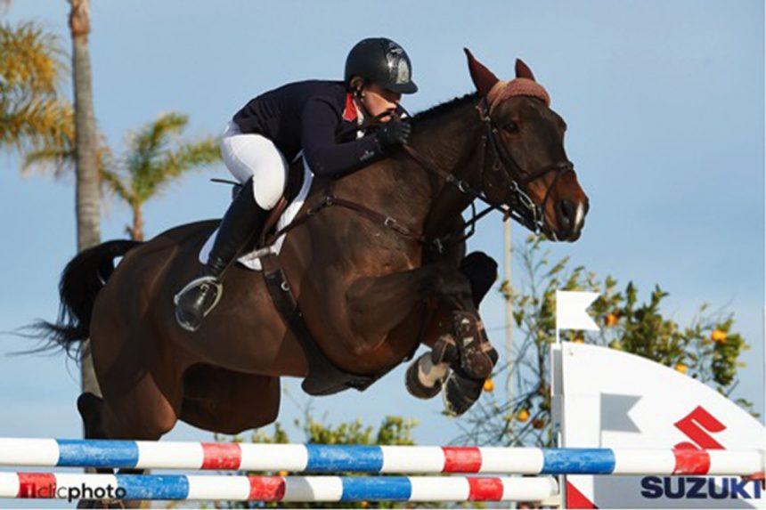 Holly Smith se impone en el Grand Prix del Mediterranean Equestrian Tour