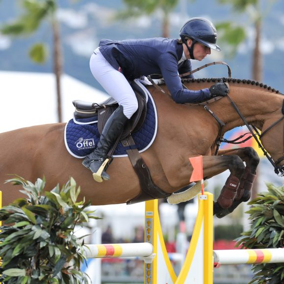 Katharina Offel opens Spring MET III with victory in the CSI2* Grand Prix presented by Oliva Nova Beach and Golf Resort