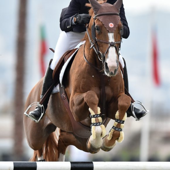 Pedro Veniss saves the best for last in the CSI2* Grand Prix presented by CHG
