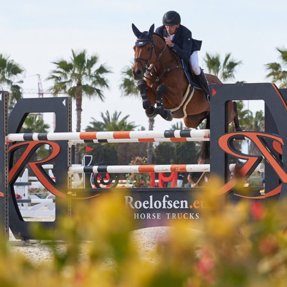 Daan van Geel snatches the win in the CSI2* Grand Prix presented by Oliva Nova Beach & Golf Resort at Spring MET III 2019