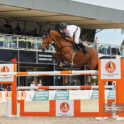 Pius Schwizer speeds to the win in the CSI2* Grand Prix presented by CHG at the Autumn MET 2019