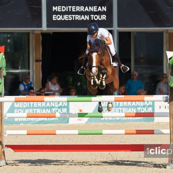 Katharina Offel and Elien win the CSI2* Grand Prix presented by Oliva Nova Beach & Golf Resort at the Autumn MET 2019
