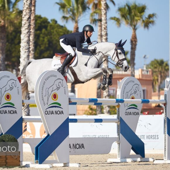 Marlon Modolo Zanotelli and Sweet Tricia take the top honours in the CSI2* 1.45m Grand Prix presented by Oliva Nova Beach & Golf Resort at Spring MET II 2020