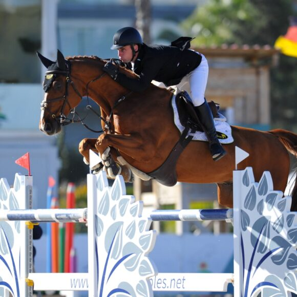 The Autumn MET 2020 concludes with a win for Richard Howley and Arlo de Blondel in the CSI2* Grand Prix presented by Oliva Nova Beach & Golf Resort