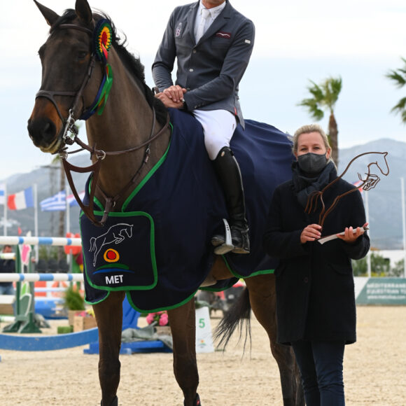 Unbeatable Epaillard tops the CSI3* 1.50m Grand Prix presented by CHG at the Spring MET 2021